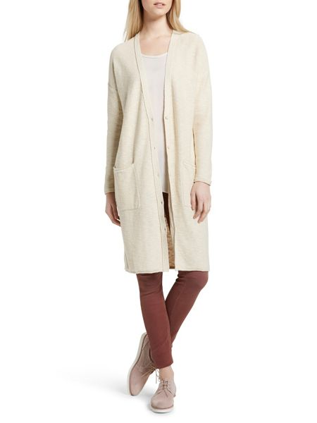 Marc O'Polo Cardigan Cotton-Linen Blend