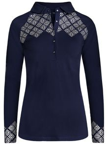 Rohnisch Tina Long Sleeve Polo