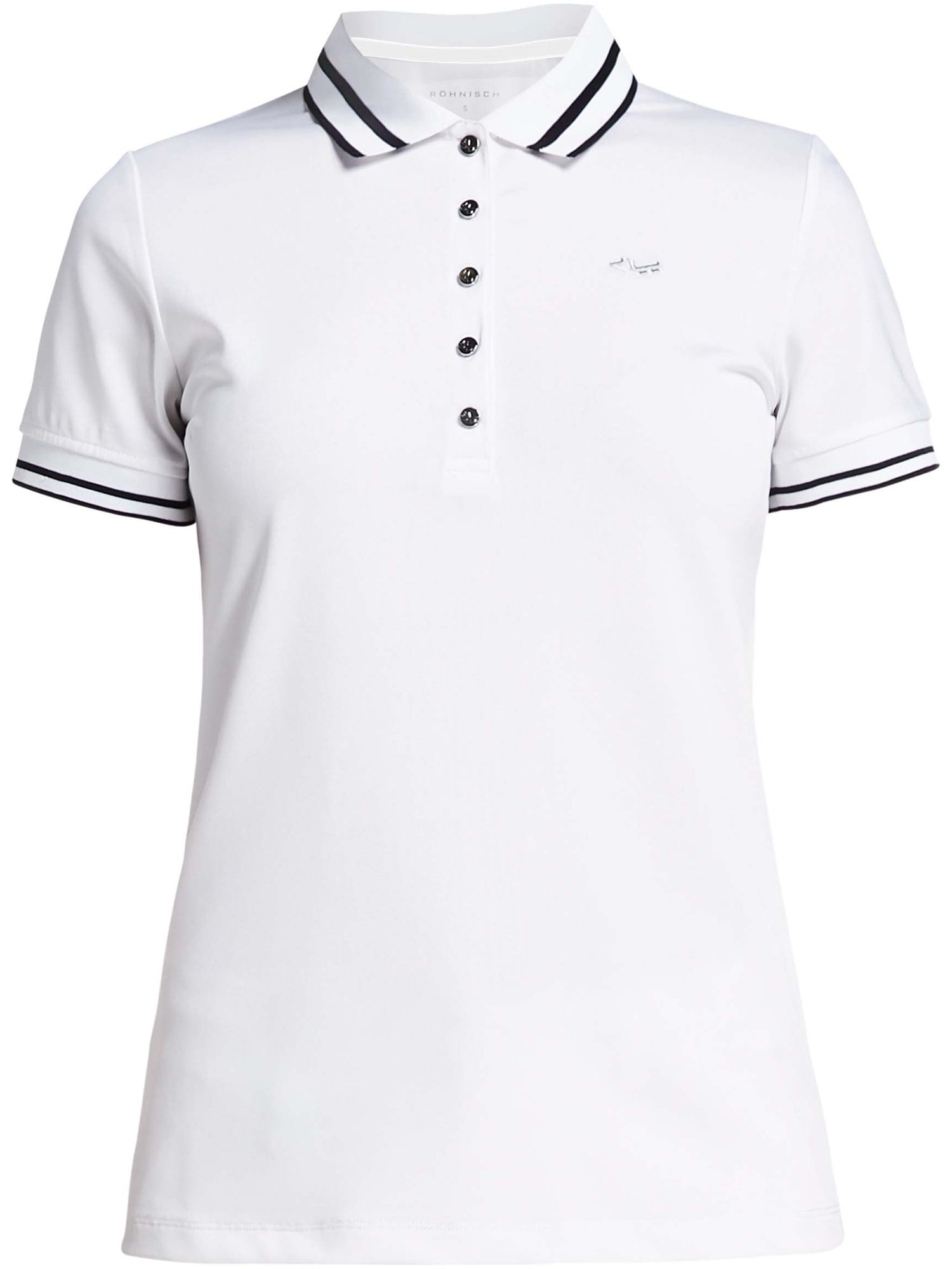 Rohnisch Pim Short Sleeved Polo, White