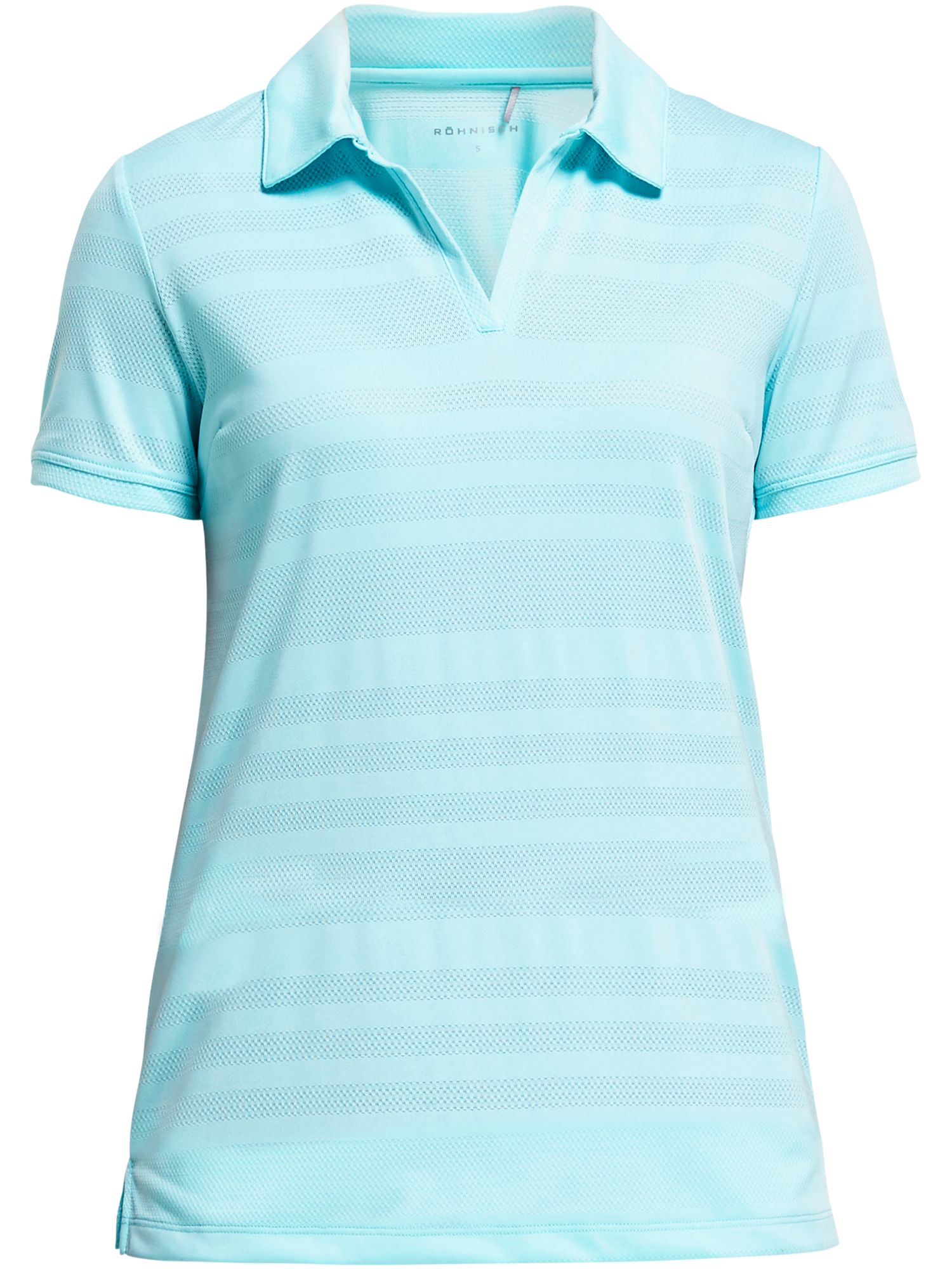 Rohnisch Nour Short Sleeved Polo, Blue