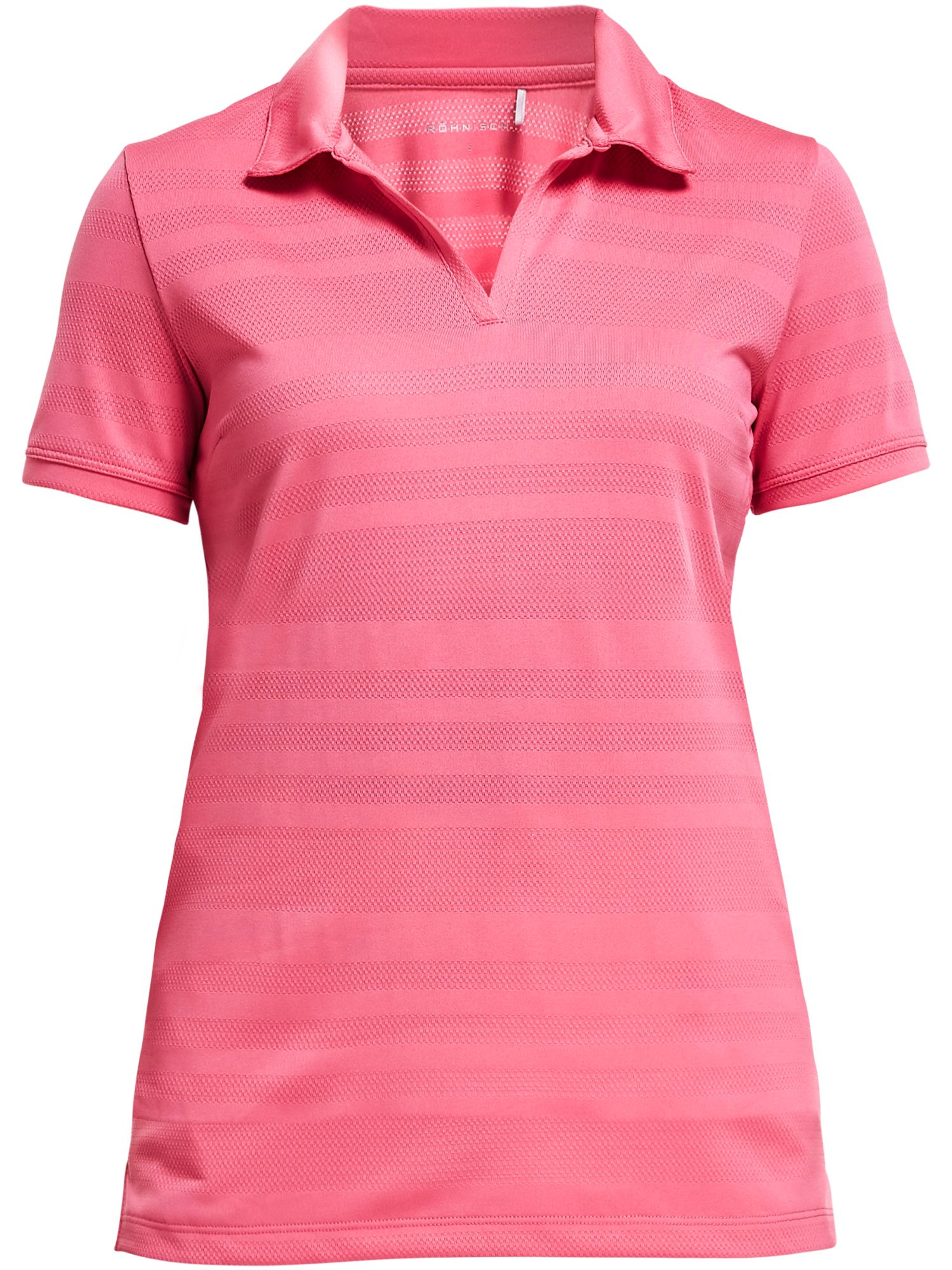 Rohnisch Nour Short Sleeved Polo, Pink