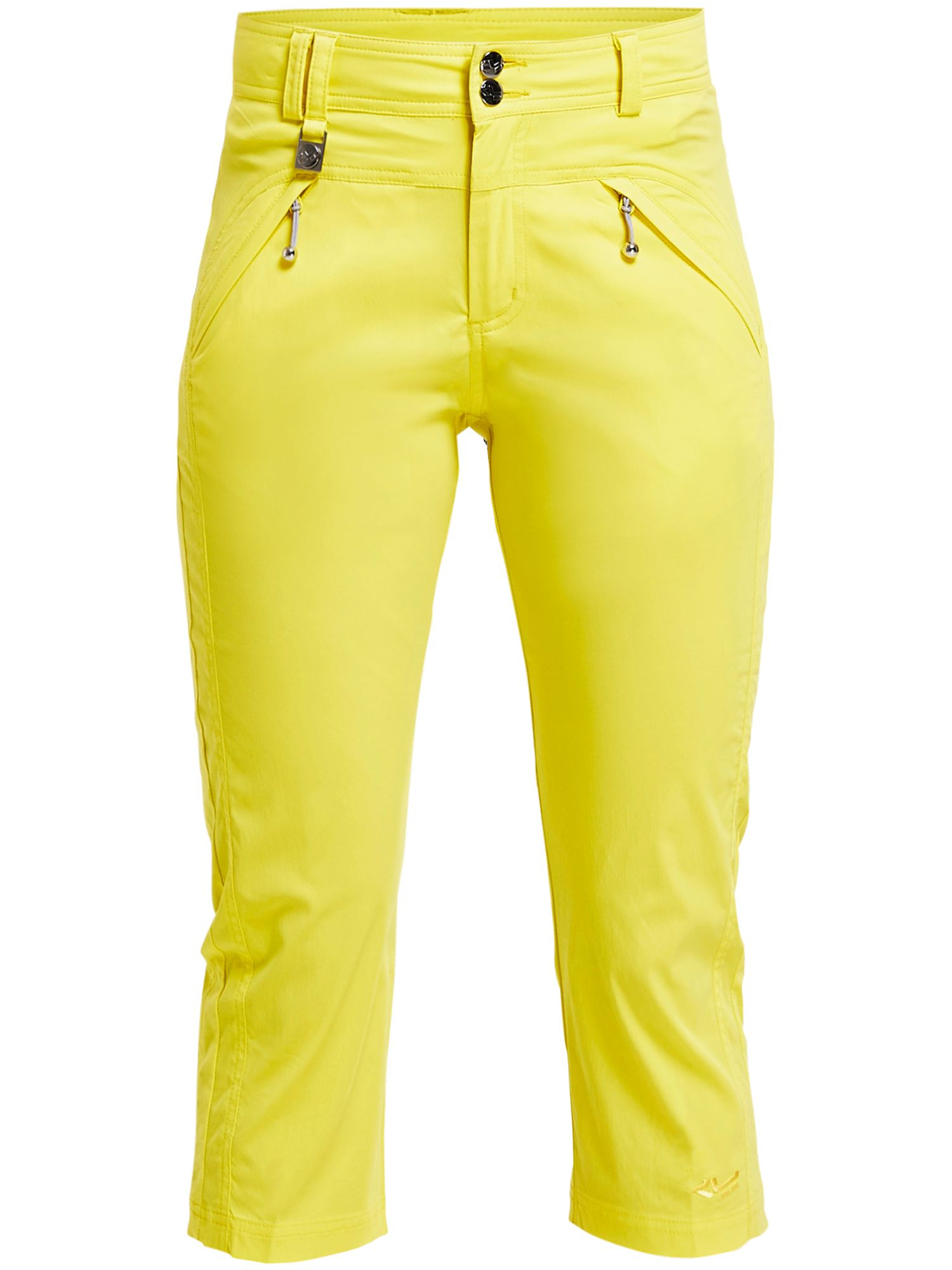 Rohnisch Dey Capri Trousers, Yellow