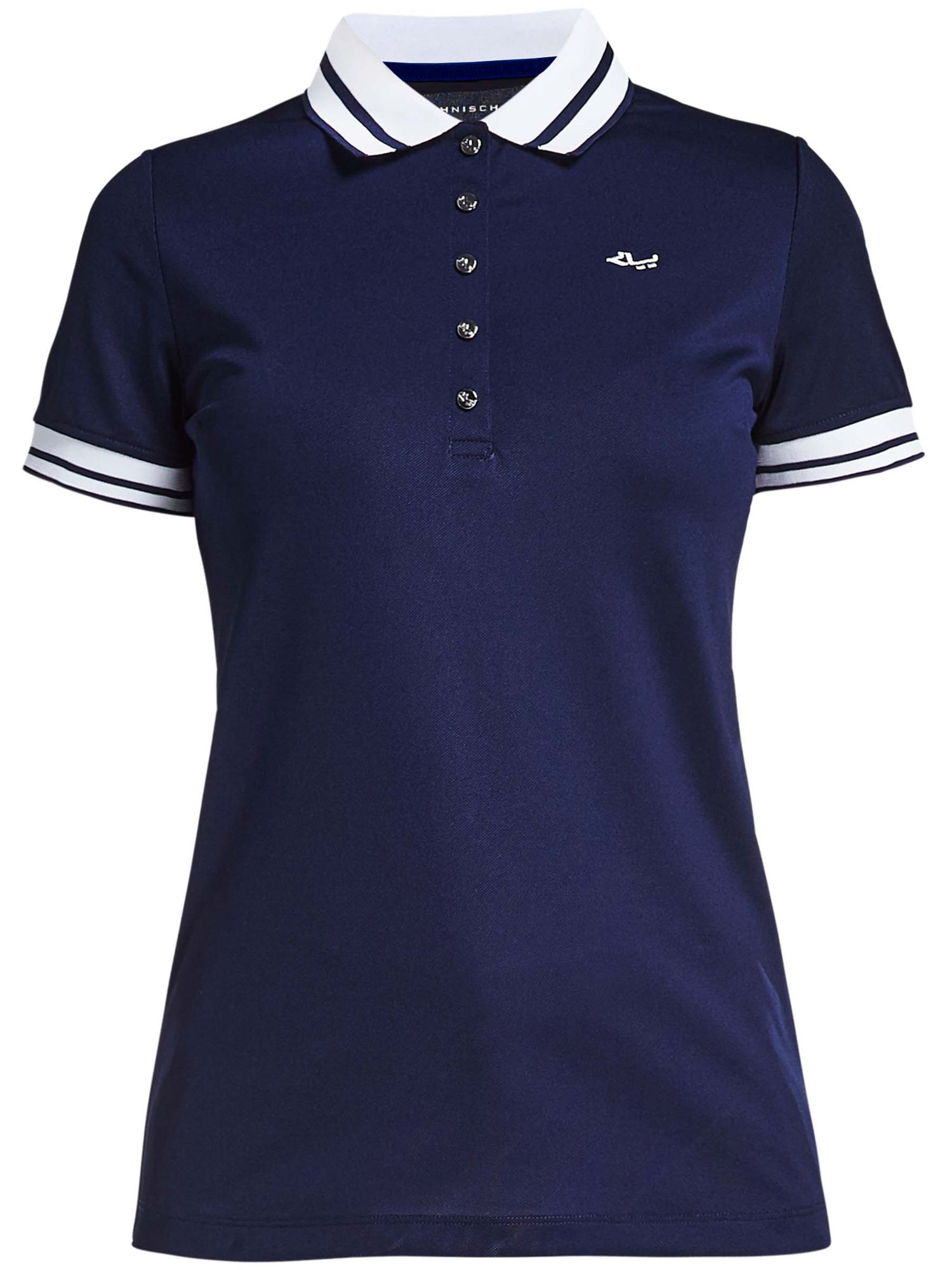 Rohnisch Pim Short Sleeved Polo, Blue