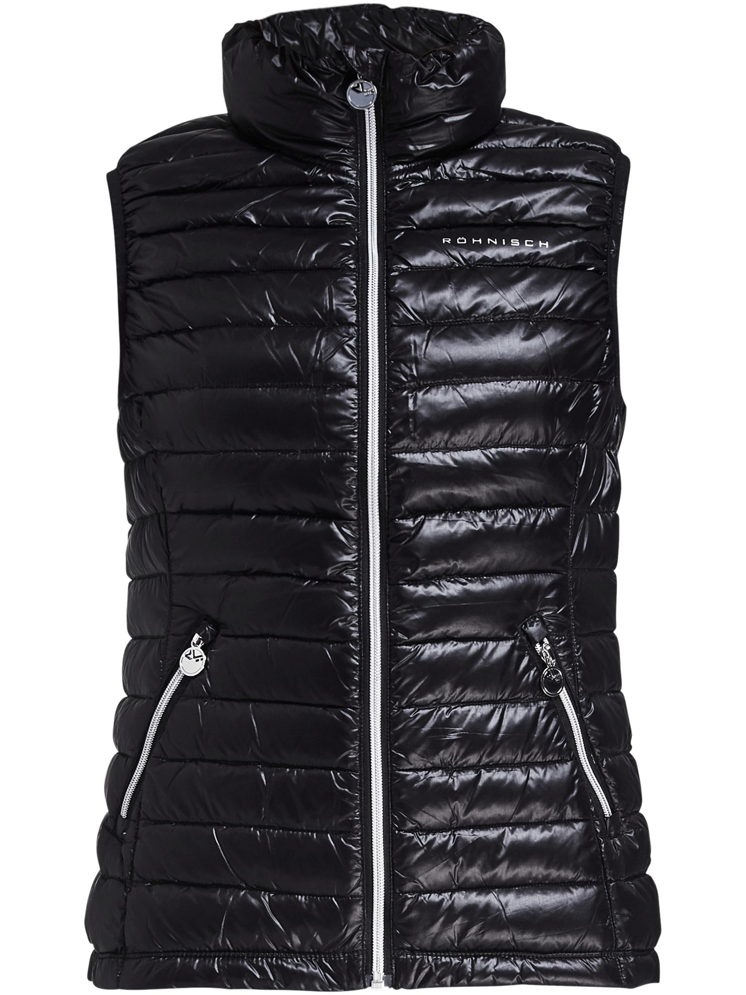 Rohnisch Light Down Gilet, Black