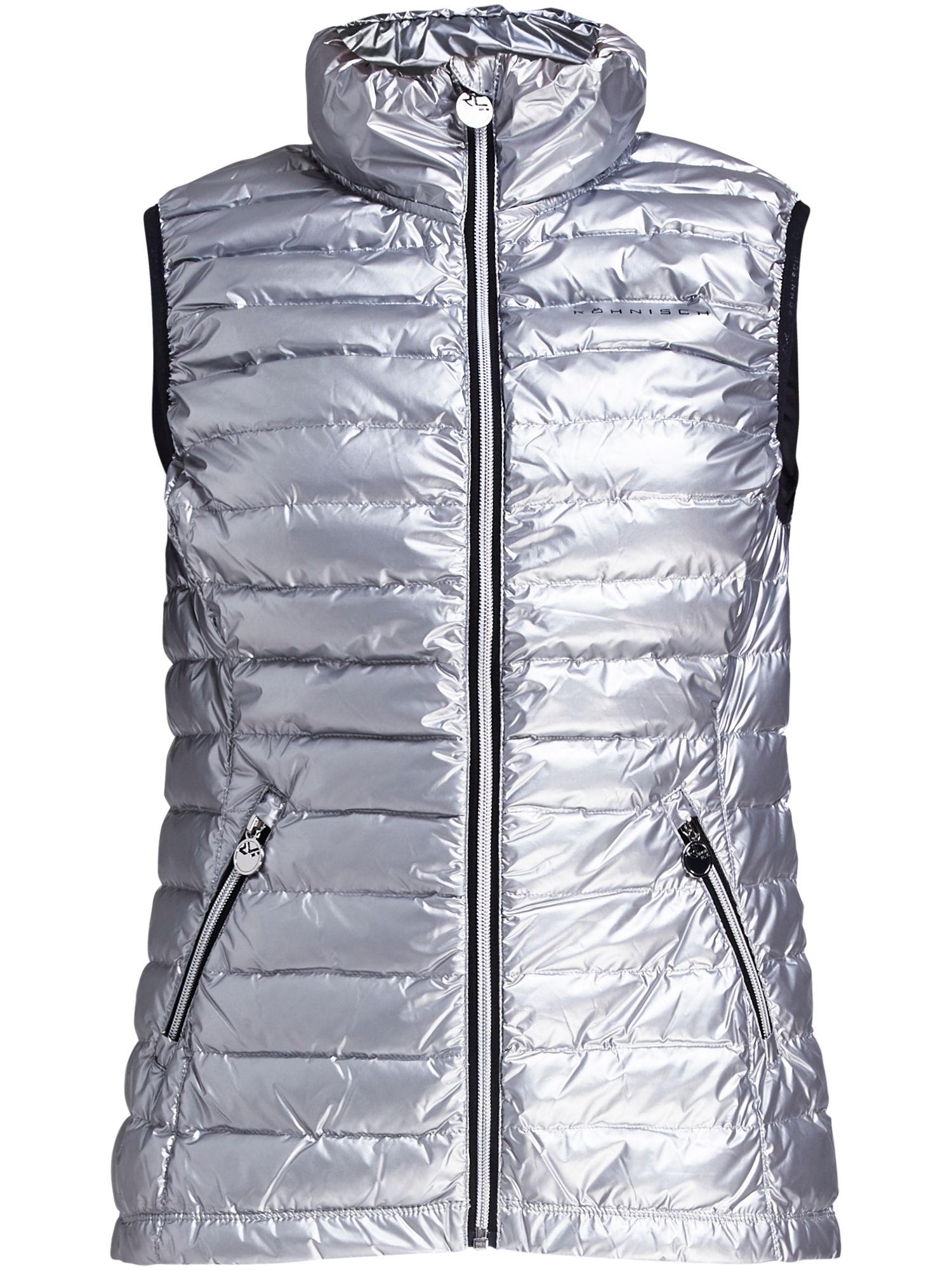 Rohnisch Light Down Gilet, Silver Silverlic