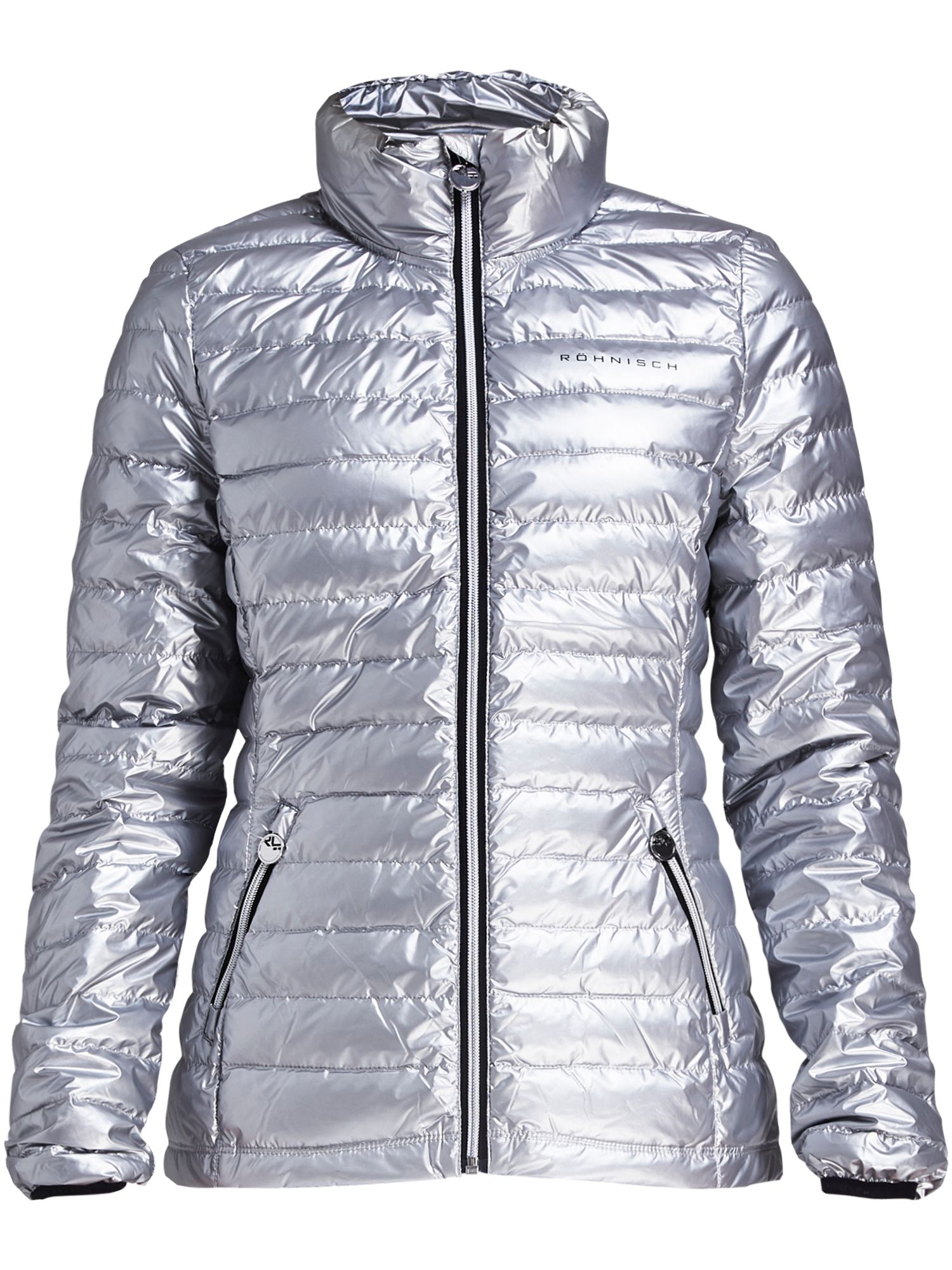 Rohnisch Light Down Jacket, Silver Silverlic