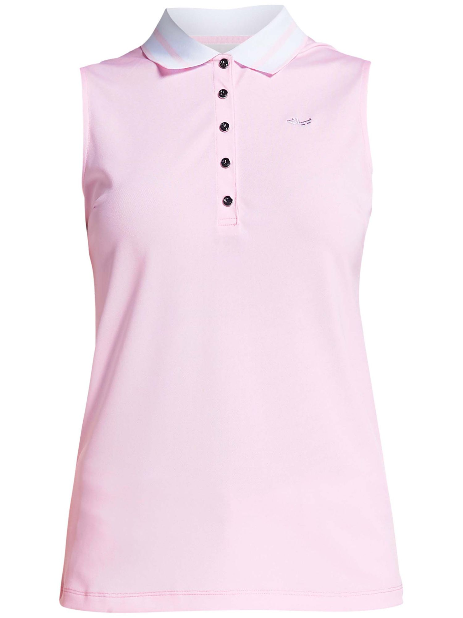 Rohnisch Pim Sleeveless Polo, 161 Cherry Blossom