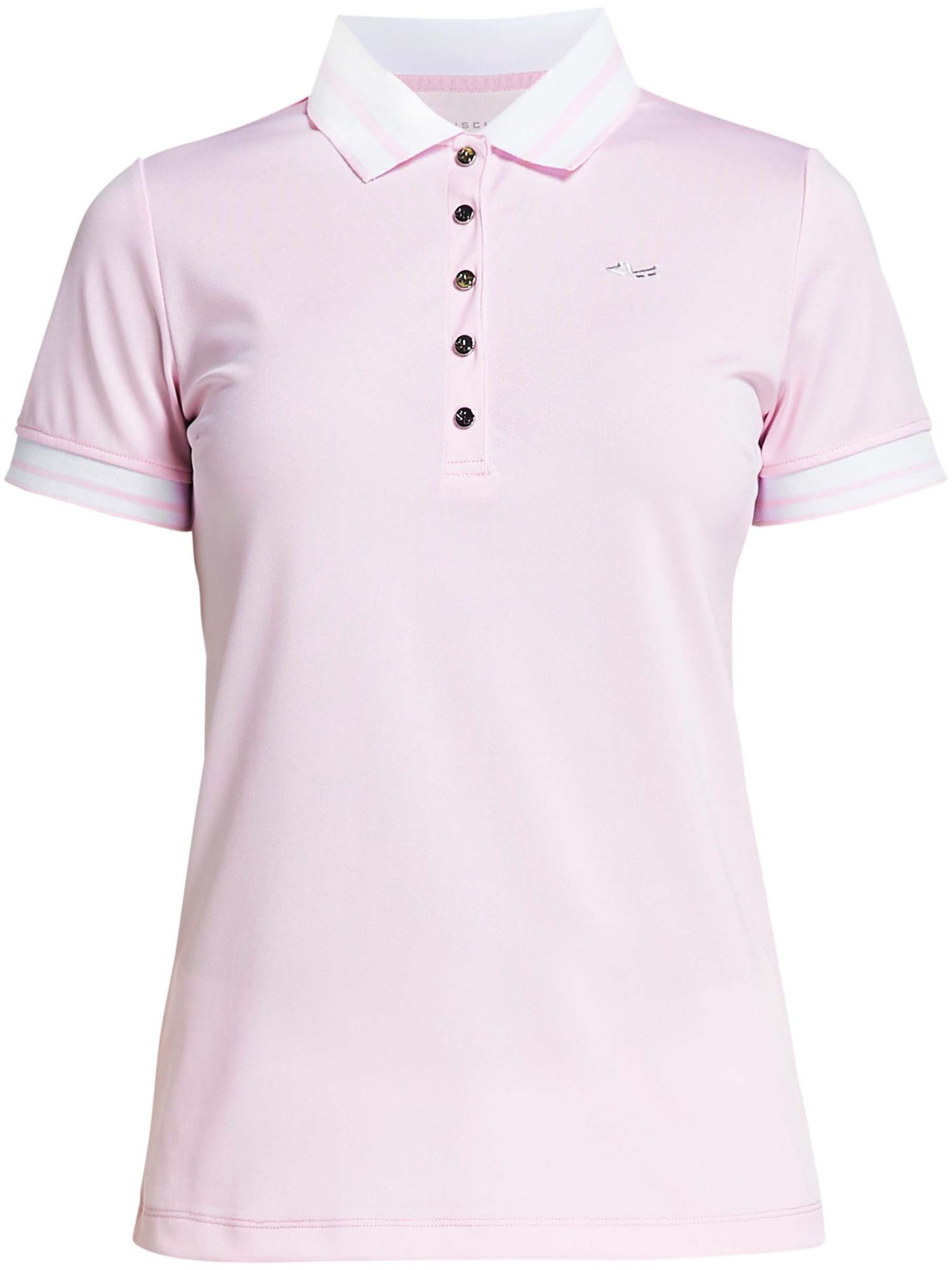 Rohnisch Pim Short Sleeved Polo, 161 Cherry Blossom