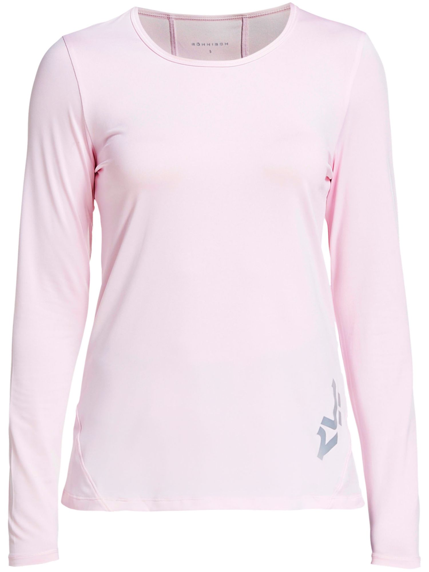 Rohnisch Genna Long Sleeved Polo, 161 Cherry Blossom