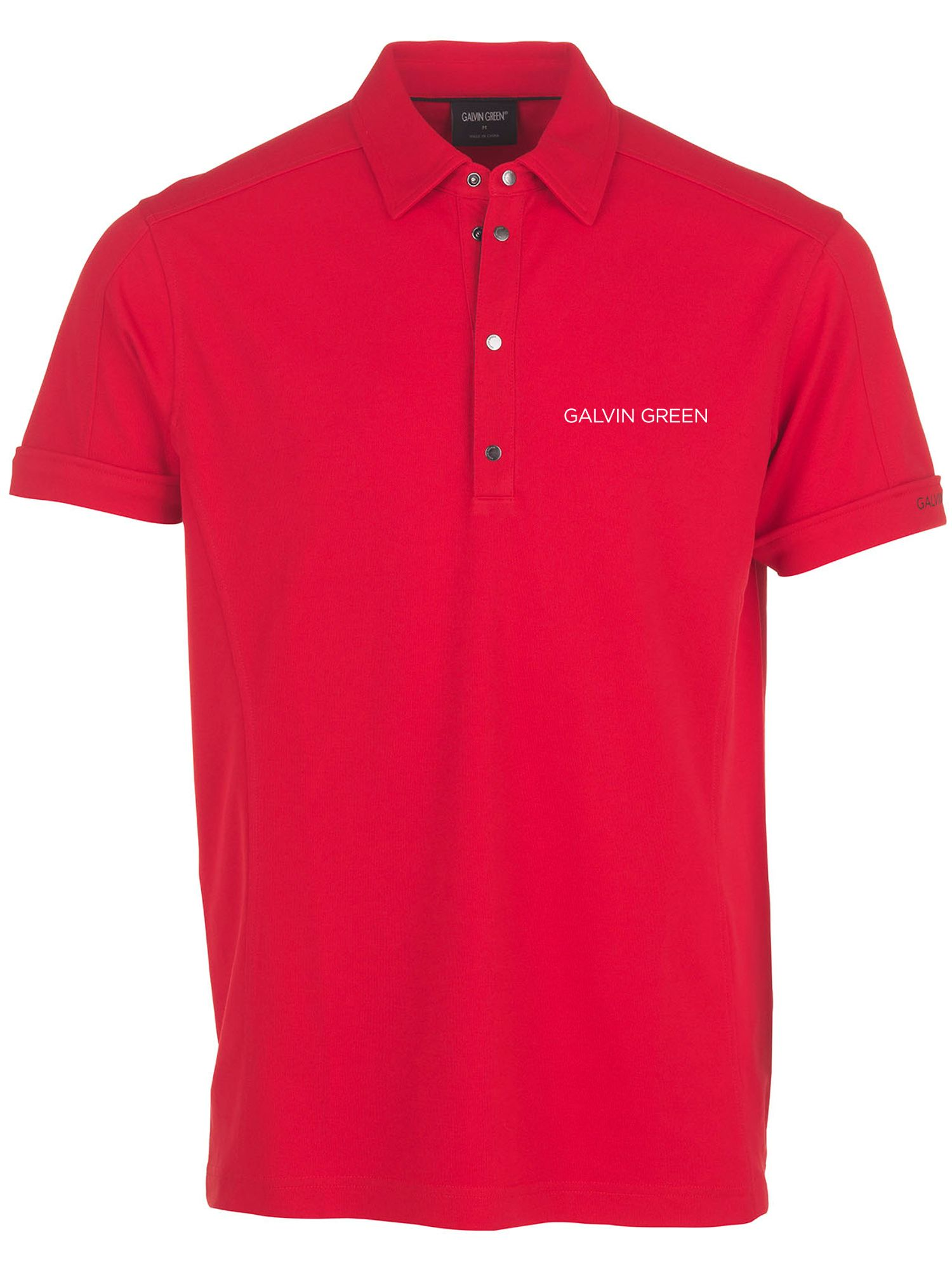 Men's Galvin Green Manley Polo, Red