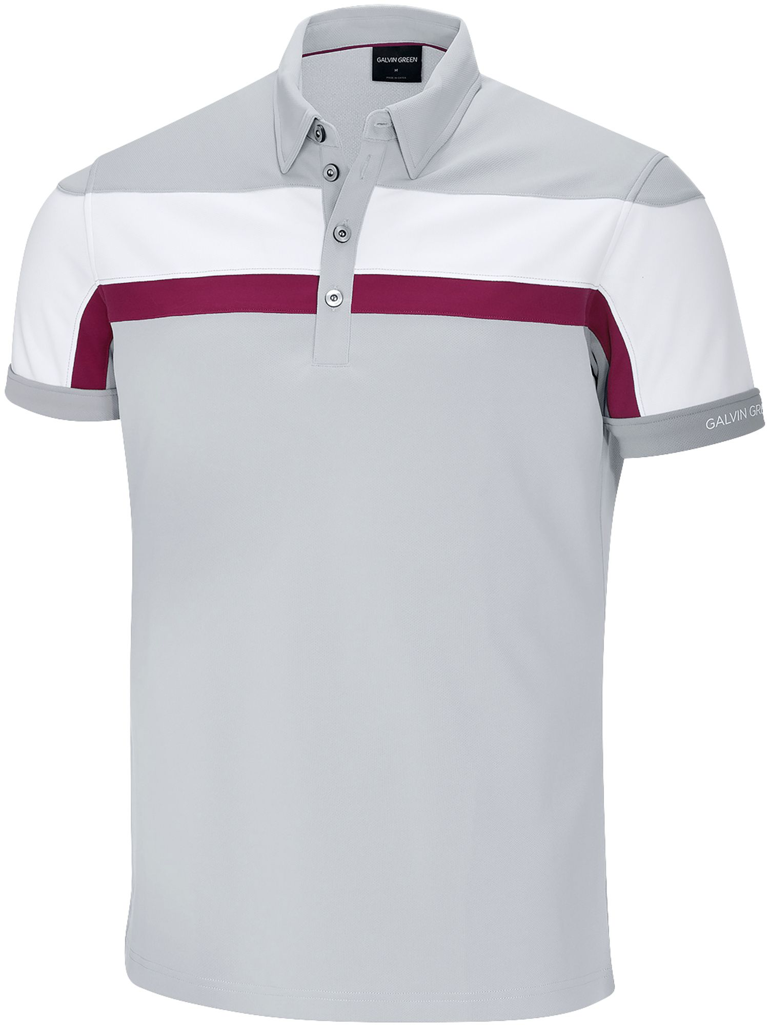 Men's Galvin Green Mitchell Ventil8 Polo, Steel