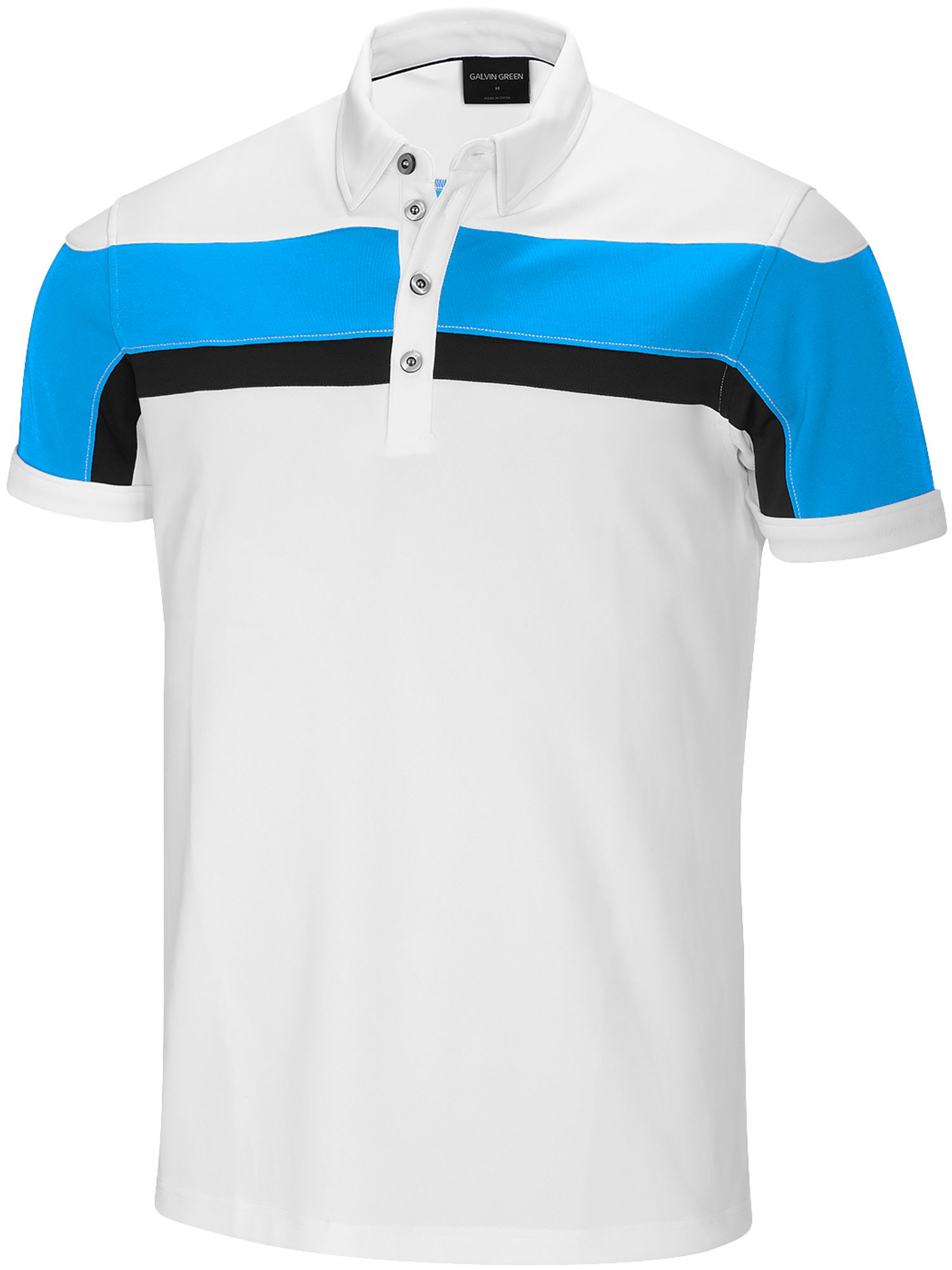 Men's Galvin Green Mitchell Ventil8 Polo, White