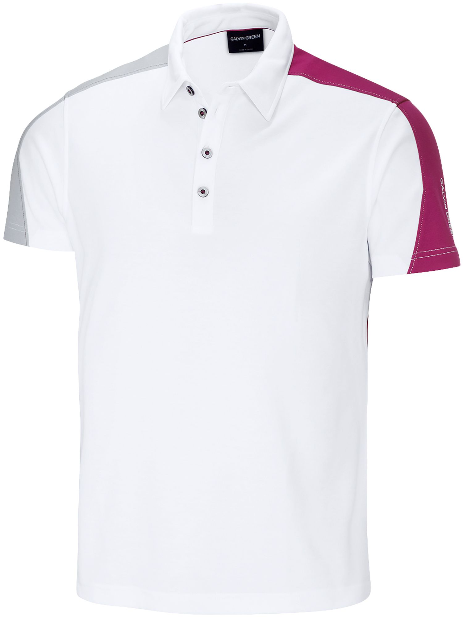 Men's Galvin Green Melvin Ventil8 Polo, White