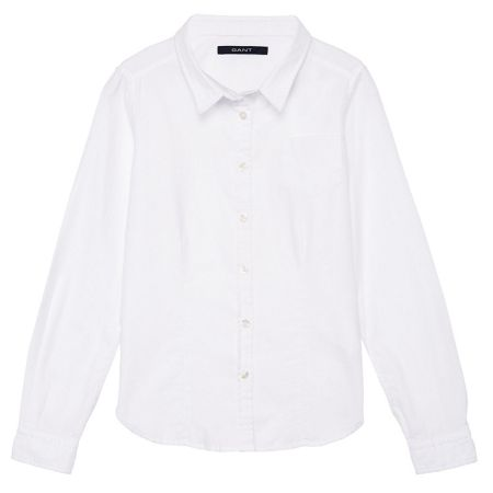Gant Girls Solid Oxford Shirt