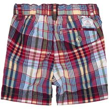 Baby Boys Madras Checked Shorts