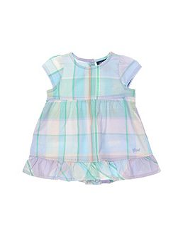 Girls Madras Dress