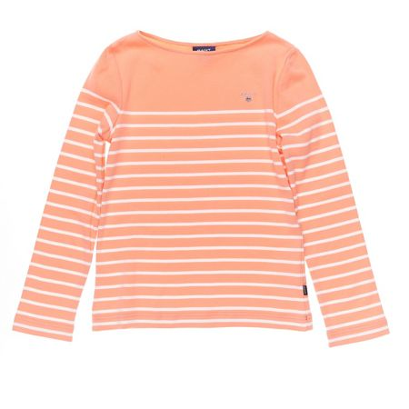 Gant Girls Breton Stripe Long-Sleeved Tee