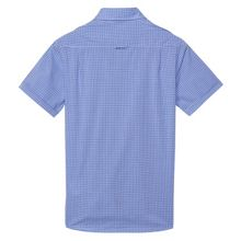 Boys Gingham Poplin Short Sleeve Shirt