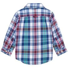 Baby Boys Oxford Madras Shirt