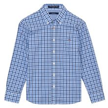 Boys Heather Poplin Shirt