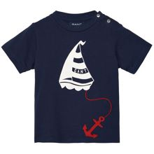 Baby Boys Sailboat T-Shirt