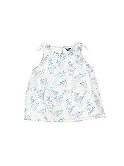 Girls Lily Flower Top
