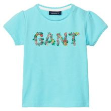 Gant Girls Flower Logo T-Shirt