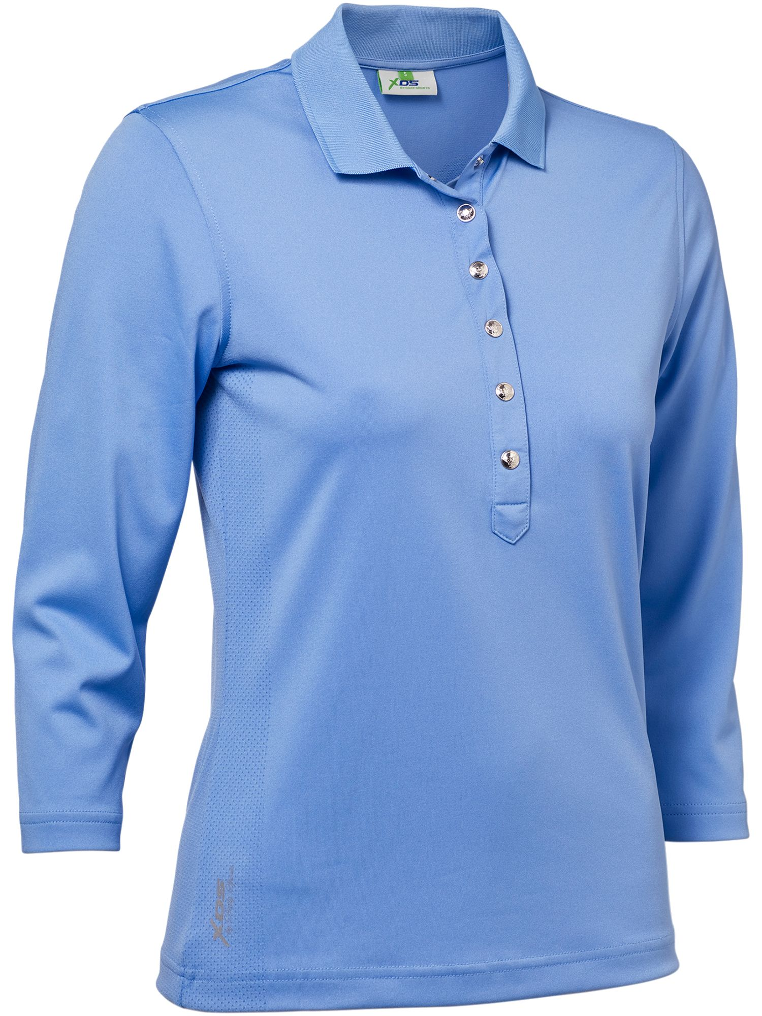 Daily Sports Mindy 3/4 Sleeve Polo, Blue