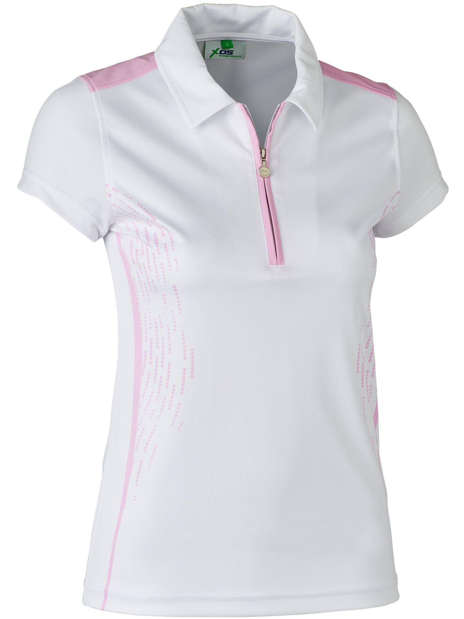 Daily Sports Memphis Cap Sleeve Polo, Pink