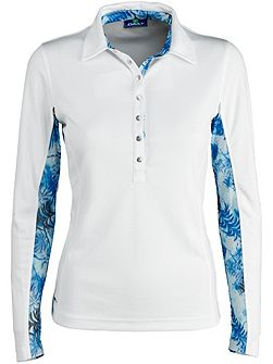 Renata Long Sleeve Polo