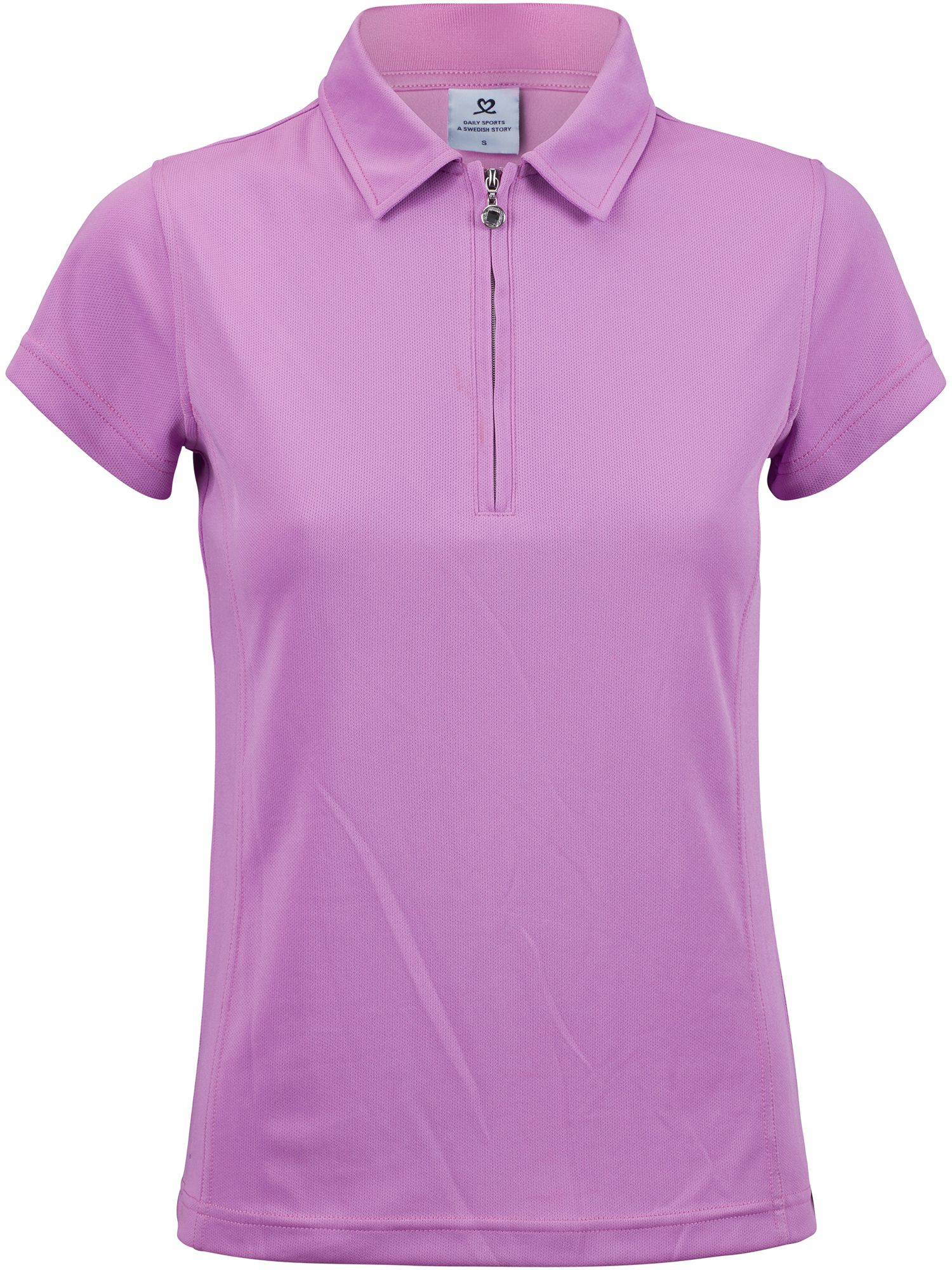 Daily Sports Macy Cap Sleeve Polo Shirt, Pink