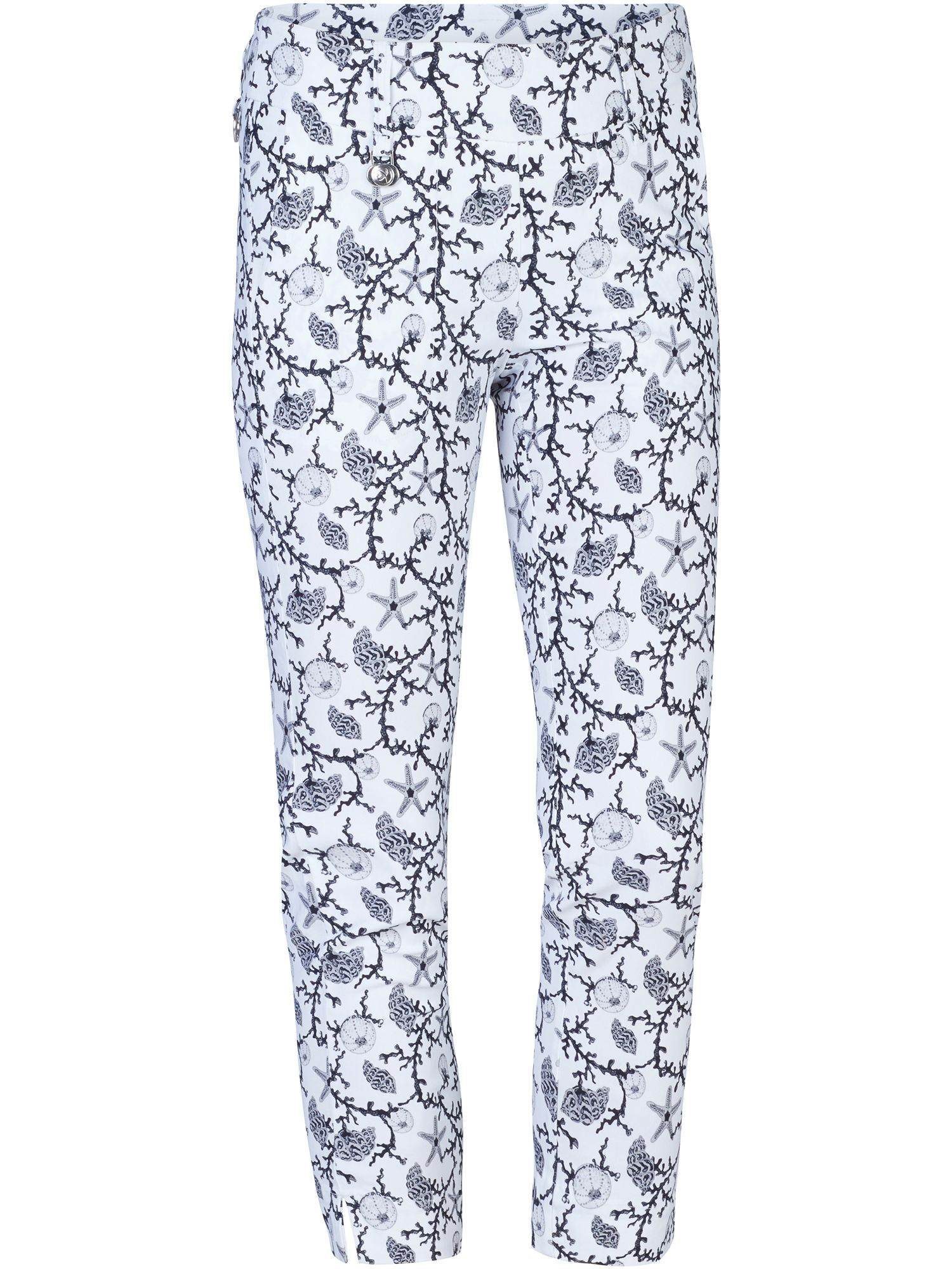 Daily Sports Coral High Water Trousers, White