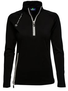 Shirley zip neck