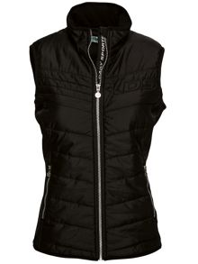 Alissa quilted wind gilet