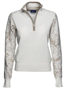 Norma lined pullover