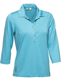 Mindy 3/4 Sleeve polo shirt