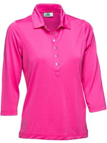 Daily Sports Mindy 3/4  Sleeve polo shirt