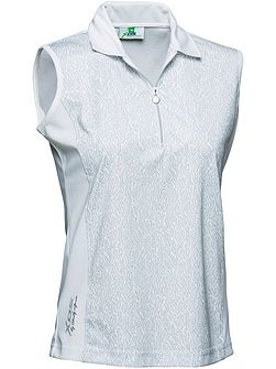 Emmy Sleeveless polo shirt