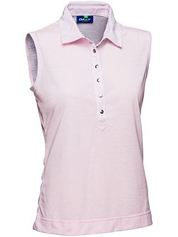 Malou Sleeveless polo shirt