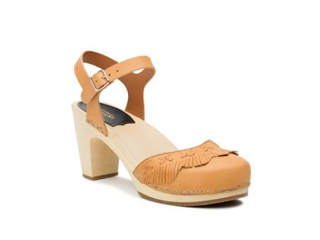 Swedish Hasbeens Fringy sandal sandals