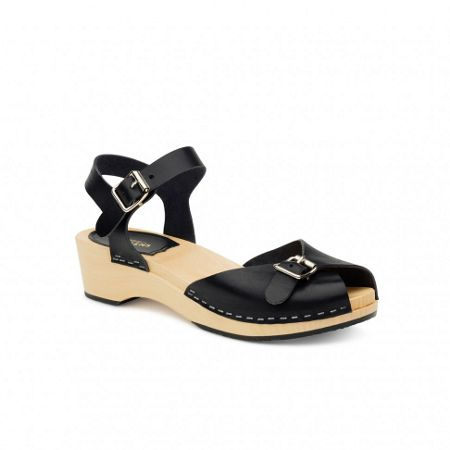 Swedish Hasbeens Pia debutant sandals