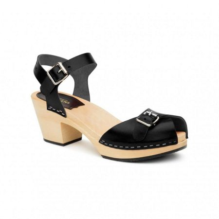Swedish Hasbeens Pia high sandals