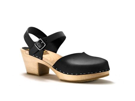 Swedish Hasbeens Covered high sandals