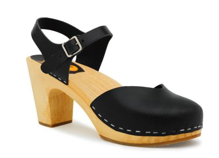 Swedish Hasbeens Covered super high sandals