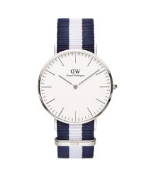 Daniel Wellington 0204DW Mens Silver Glasgow Watch