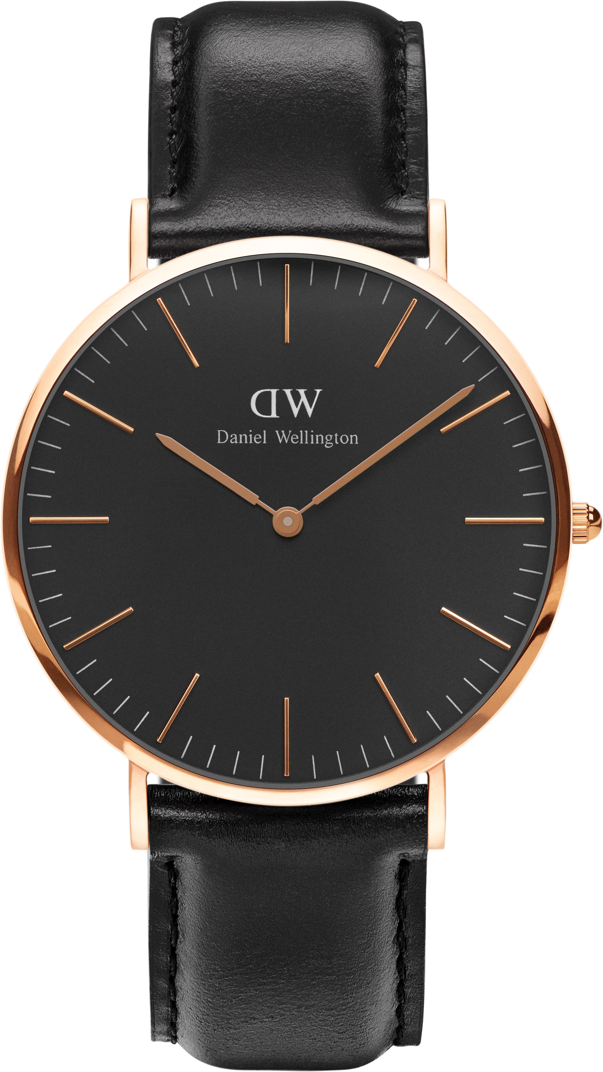 Daniel wellington classic blk sheffield 40 rose gold watch for Quality classic house of fraser