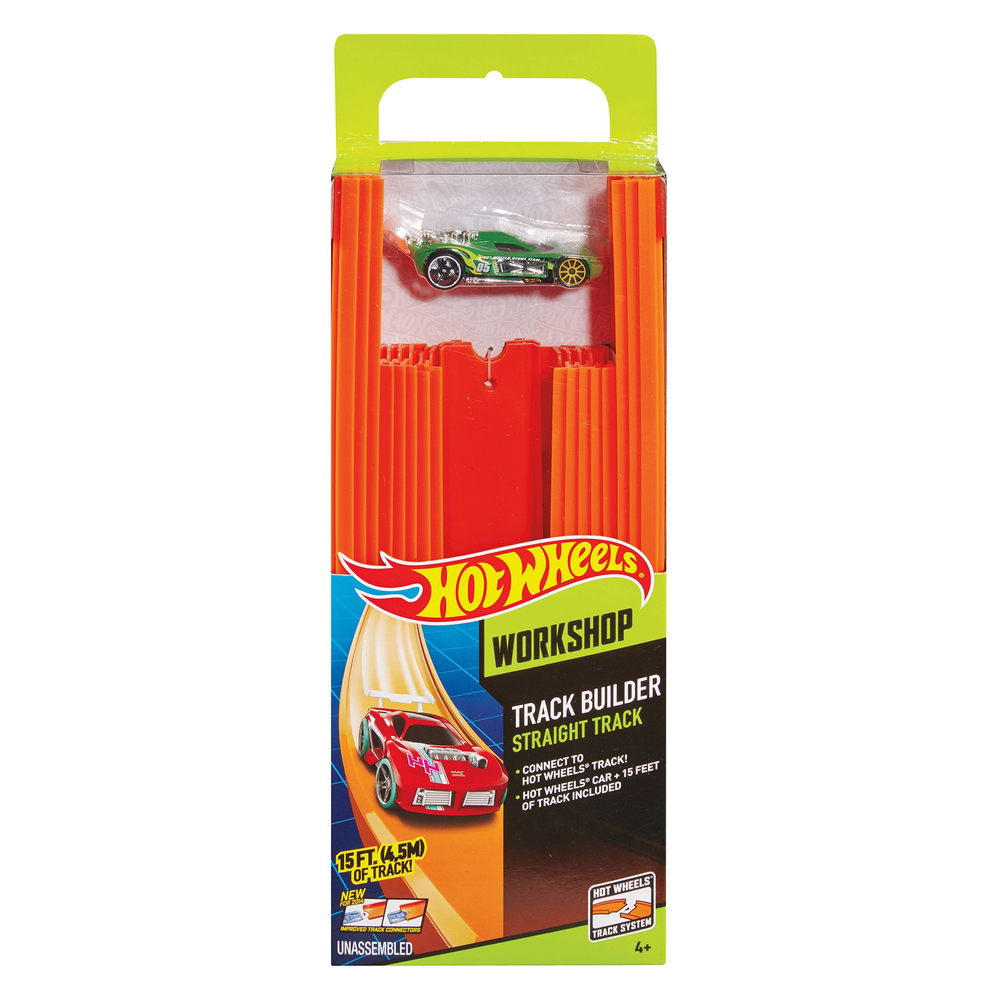 Hot Wheels Track Builder 15Inches Of Track