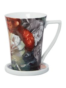Ted Baker Mug & Coaster Set Technicolour in Bloom