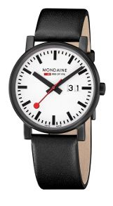 Mondaine MONEVO00019 Mens strap watch