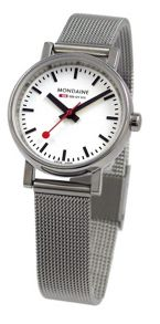 Mondaine A658.30301.11SBV Evo silver ladies watch